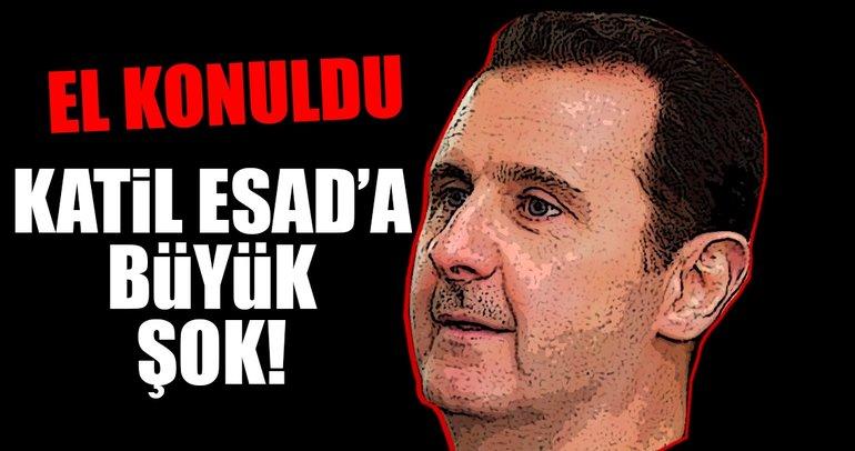 Katil Esad'a büyük şok!