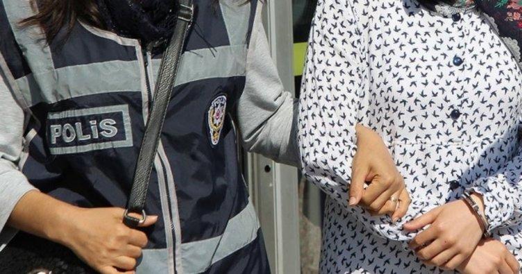 FETÖ şüphelisi kadın otelde yakalandı