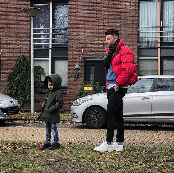 Futbolcular ve çocukları