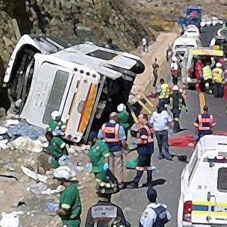 Peru'da otobüs kazası: 30 ölü