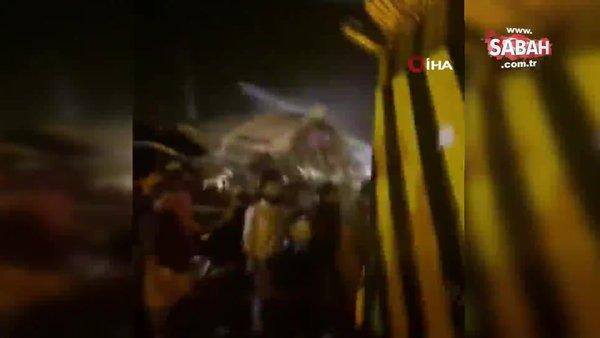 Hindistan'da yolcu uçağı kazası: Ölü ve yaralılar var | Video
