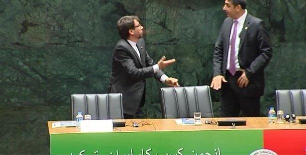 Ruhani ve Gül'ün konuşacağı salonda koltuk krizi