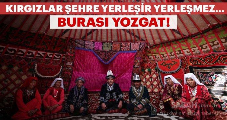 Kırgız Türkleri geleneklerini Yozgat'ta yaşatıyor