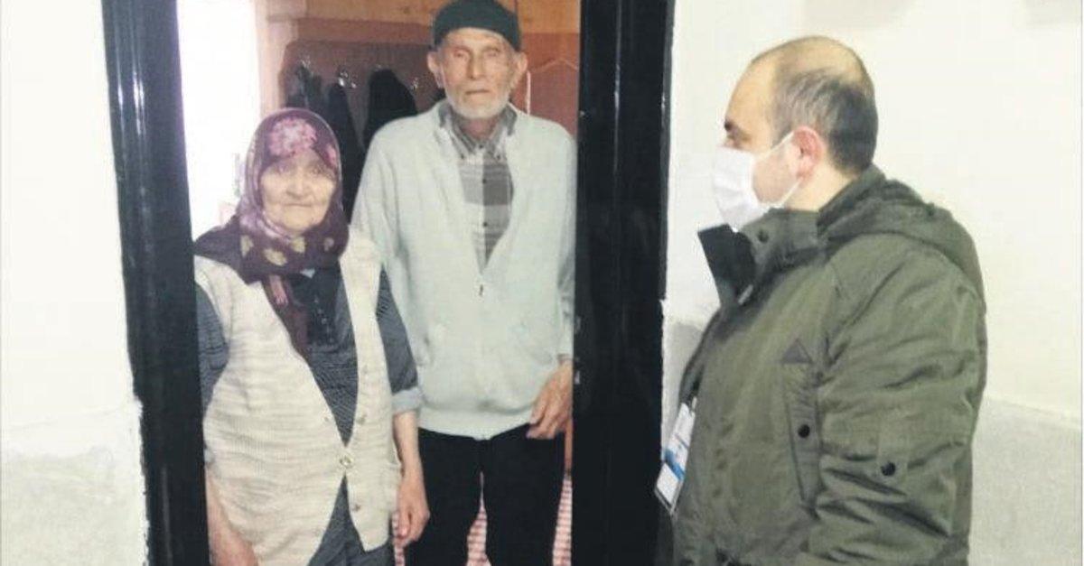 Yaşlılar 'alo' diyor yardıma koşuluyor