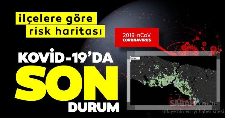 SON DAKİKA HABER | Corona virüsü vaka sayısı haritası Ankara İstanbul ilçelere göre dağılımı: 8 Nisan Türkiye'de corona virüs vakaları ve son durum