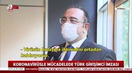Türk şirketten büyük başarı! Kovid-19'u etkisizleştiren teknoloji geliştirildi! | Video