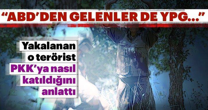 ABD'den gelenler de YPG üniforması giyip keleş taşıyorlardı