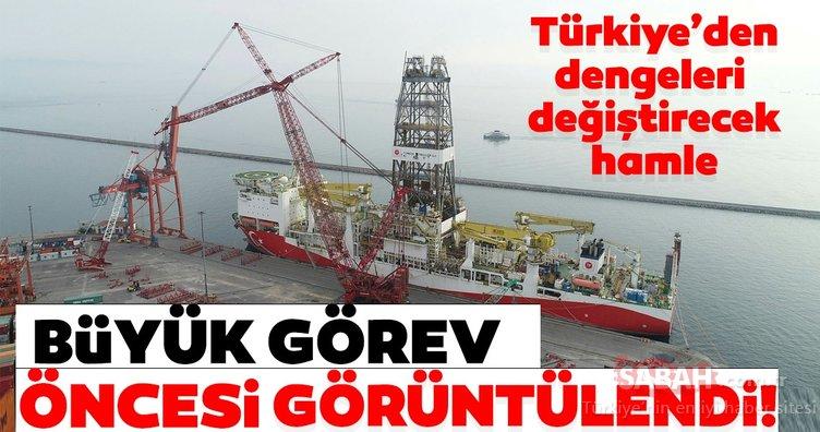 Türkiye'den dengeleri değiştirecek hamle! 'Fatih' büyük görev öncesi görüntülendi