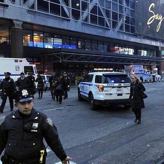 New York'ta terör saldırısı paniği