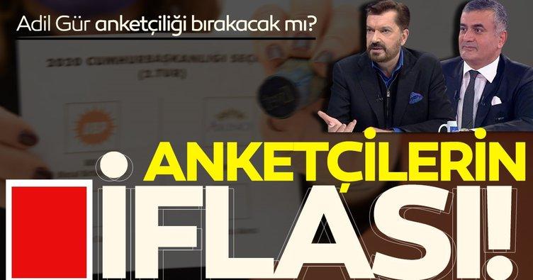 Anketçilerin iflası! 'Ersin Tatar seçimi kazansın mesleğimi bırakırım' diyen Adil Gür anketçiliği bırakacak mı?