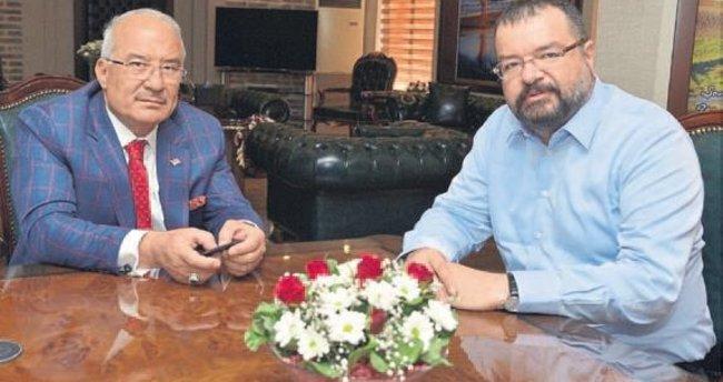 Başkan Kocamaz'dan Önder Ege'ye ziyaret