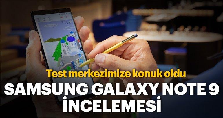 Samsung Galaxy Note 9 incelemesi! İşte Samsung Galaxy Note 9 özellikleri