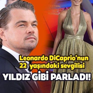 Leonardo DiCaprio'nun 23 yaş küçük sevgilisi Camila Morrone Marakeş Film Festivali'nde gecenin yıldızı oldu!