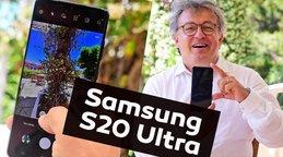 Samsung Galaxy S20 Ultra'nın 'ultra' özellikleri: Uzakları 100 kat yakınlaştırıyor! Samsung bunu ilk defa... | Video