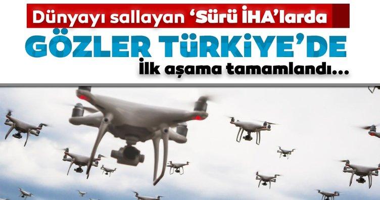 Dünyayı sallayan Sürü İHA'lar için gözler Türkiye'de: İlk aşama tamamlandı!