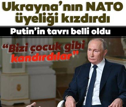 Ukrayna'nın NATO üyeliği ihtimali Putin'i kızdırdı: Bizi kandırdılar
