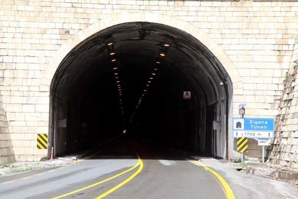 Zigana Tüneli'nde sona yaklaşılıyor