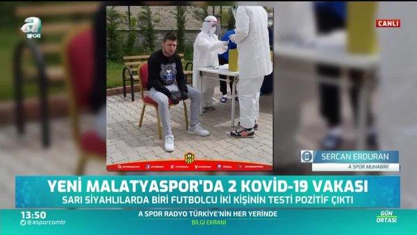 Yeni Malatyaspor'da 2 Covid-19 vakası