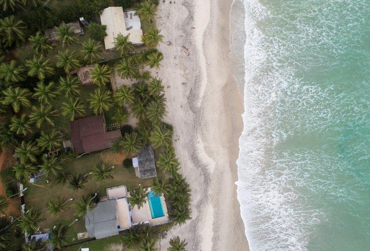 Fildişi Sahili'nin cezbeden Atlas Okyanusu kıyıları