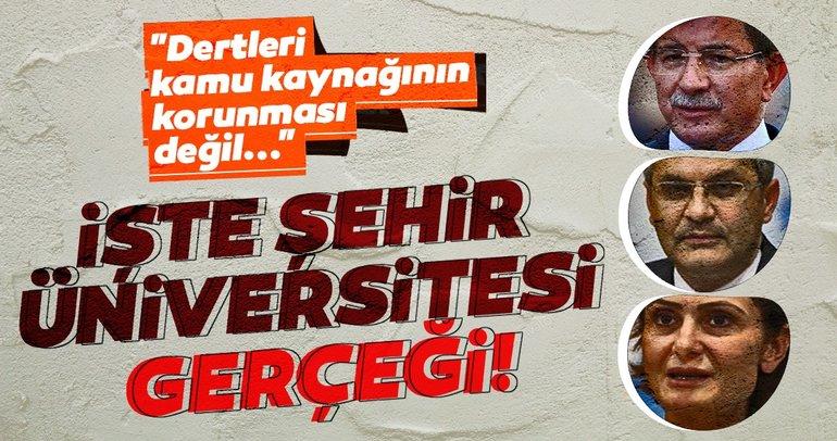 İşte Şehir Üniversitesi Gerçeği! Dertleri kamu kaynağının korunması değil...