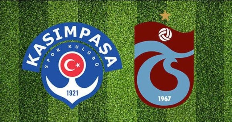 Kasımpaşa Trabzonspor CANLI | Kasımpaşa Trabzonspor maçı saat kaçta hangi kanalda?