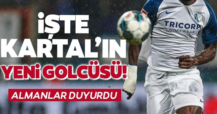 İşte Beşiktaş'ın yeni golcüsü! Almanlar duyurdu