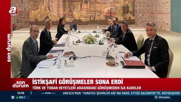 TürkiyeveYunanistanarasında kritik görüşme sona erdi! İşte gündem maddeleri... | Video