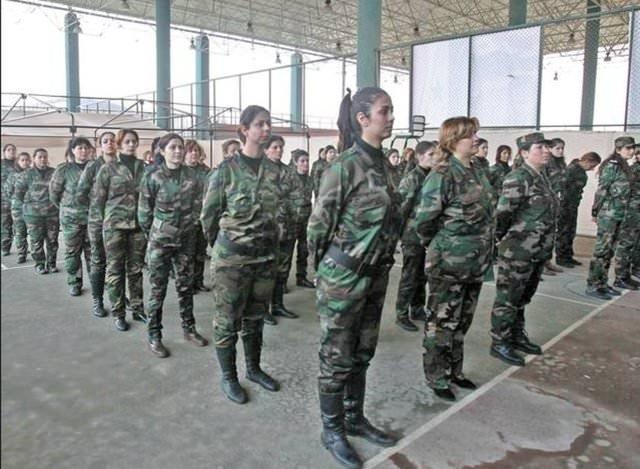 Esad'ın Dişi ölüm makinaları!