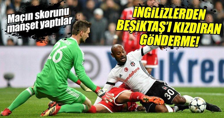 Avrupa basını Beşiktaş-Bayern Münih maçını böyle gördü
