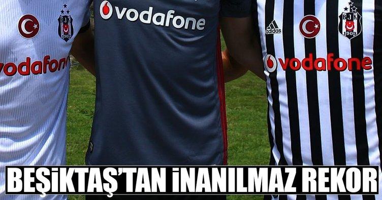 Beşiktaş'tan inanılmaz rekor