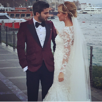 Ece Erken ile Serkan Uçar'ın düğünü