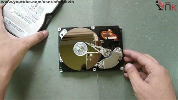 Bilgisayar parçalarından öyle bir şey yaptı ki