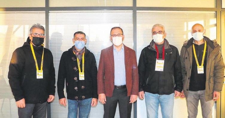Kasapoğlu, TSYD Ankara'yı ağırladı