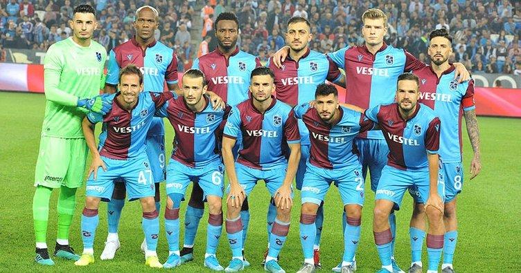 Trabzonspor Avrupa'da 131. maçına çıkıyor