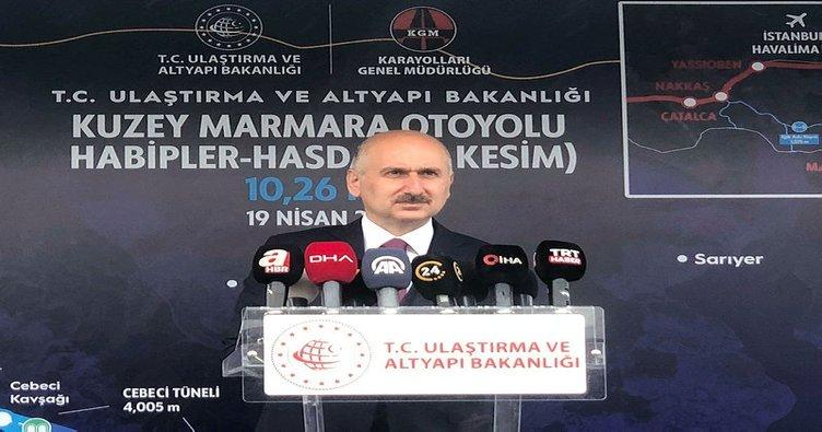 Son dakika... Ulaştırma ve Altyapı Bakanı Karaismailoğlu'ndan Kanal İstanbul açıklaması