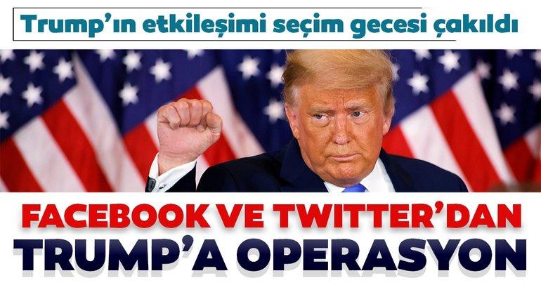 Facebook ve Twitter Trump'ı bitirdi: Trump'ın yaptığı paylaşımların yarısı sansürlendi