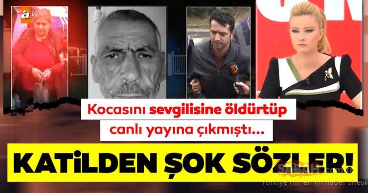 Kocasını sevgilisine öldürtmüştü! Müge Anlı canlı yayınında Turgut Özyürek cinayetinden son dakika haberi: Katilin o sözleri...
