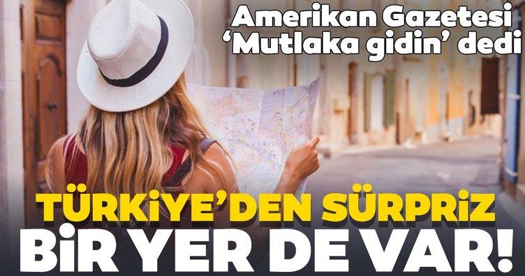 2020'de mutlaka gidilmesi gereken yerler! New York Times listeye Türkiye'den...