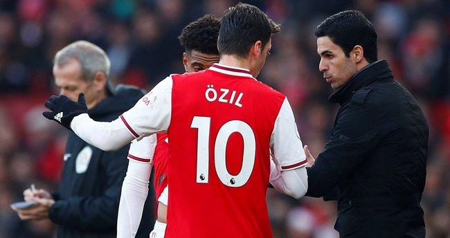 Arsenal Menajeri Mikel Arteta'dan Mesut Özil'e cevap!