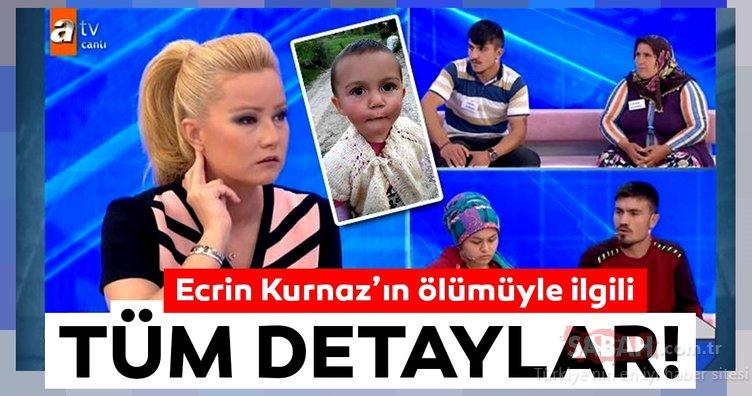 1.5 yaşındaki Ecrin olayında son dakika haberi! Ecrin Kurnaz'ın katili bulundu mu?