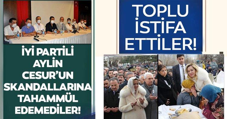 İYİ Parti Isparta İl Başkanı ve 7 ilçe başkanı partideki görevlerinden istifa etti