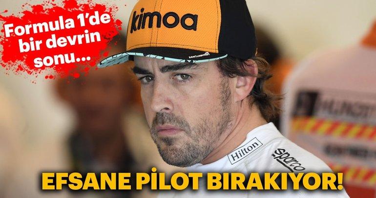 Fernando Alonso, Formula 1'i bırakıyor