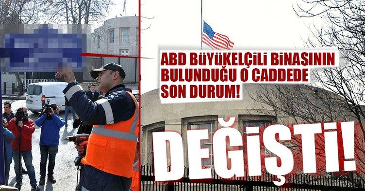 Son Dakika Haberi: ABD Büyükelçiliğinin önündeki tabela değişti