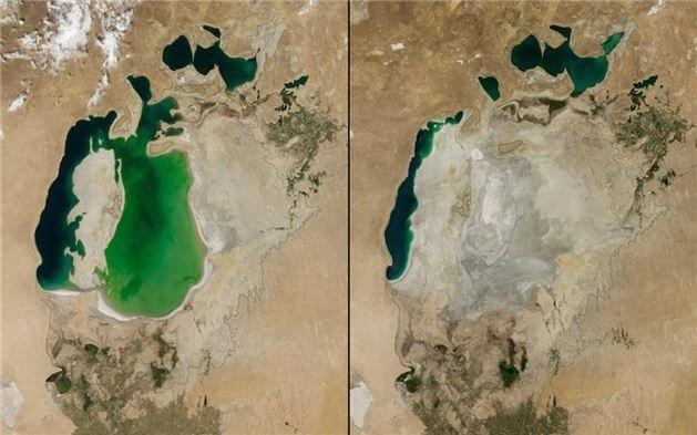 Dünyanın değişimini gösteren fotoğraflar