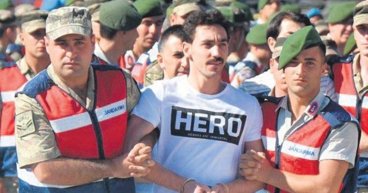 Beş cezaevi personeline 'Hero' tişörtü davası