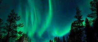 Kuzey ışıkları uzaydan görüntülendi