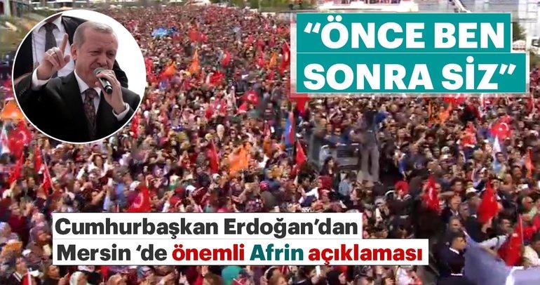 Erdoğan: Sefer görev emri geldiği zaman önce ben sonra hep beraber gideceğiz