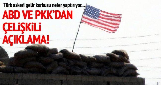 PYD'nin astığı ABD bayrağı ne anlama geliyor?