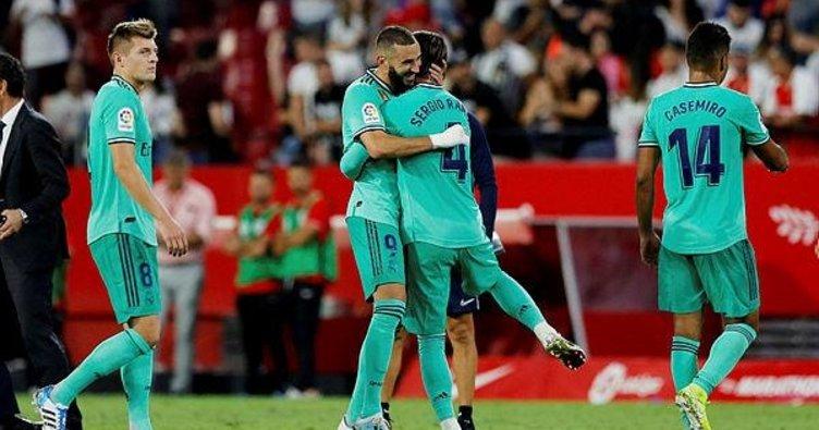 Real Madrid, Sevilla'yı Benzema ile geçti