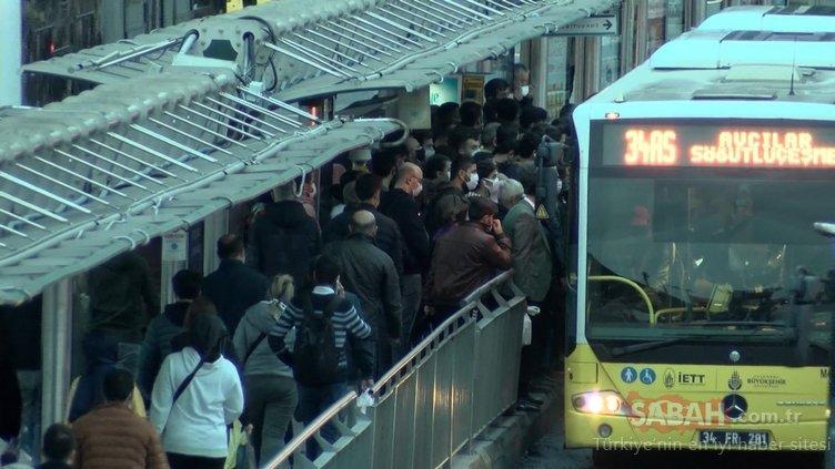 Son dakika: İstanbul'da yaşayanlar dikkat! Metrobüs güzergahı değişiyor